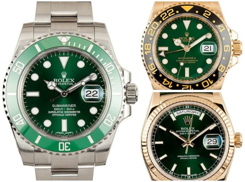3 Watches That Will Make You Green with Envy