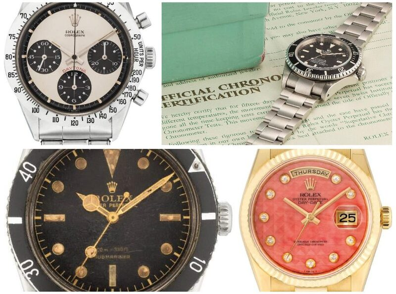 9 Rolex Watches that Shattered their Estimates at Phillips Auction
