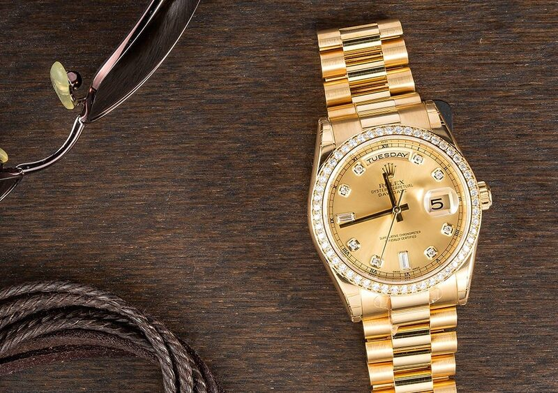 A Cut Above the Rest: Diamond Day-Date 118348