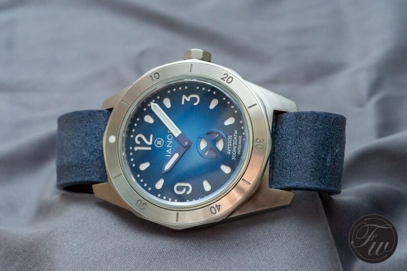 About the Ianos Avyssos diver's watch