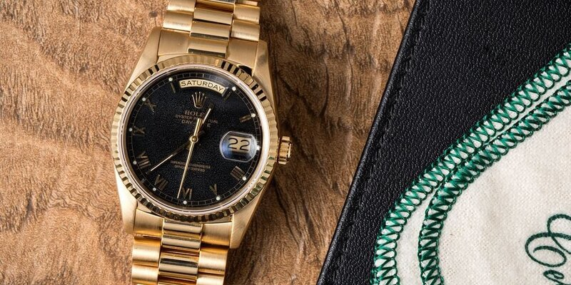 Black and Gold Rolex Watches for Him and Her