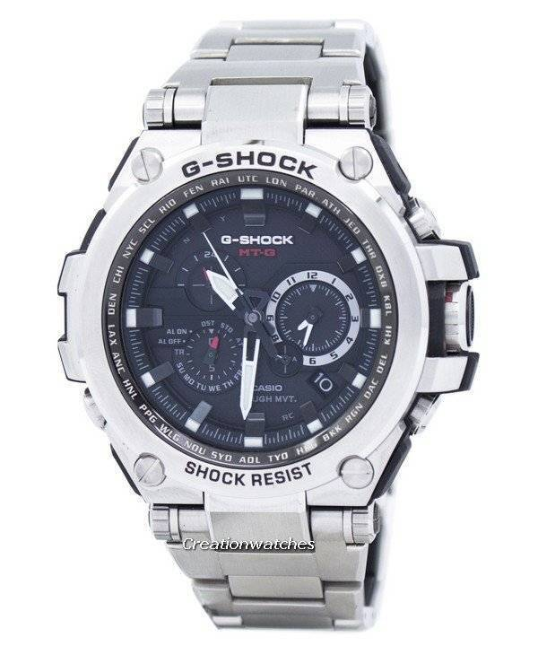 Casio G-Shock Tough Solar Radio Controlled MTG-S1000D-1A Men's Watch| Go anywhere with it