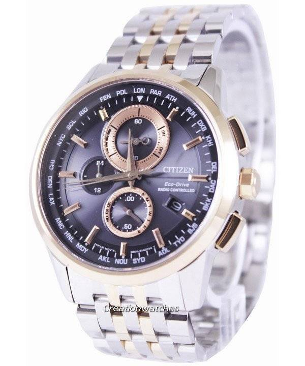 Citizen Eco-Drive Radio Controlled World Time: The Attesa gets a facelift