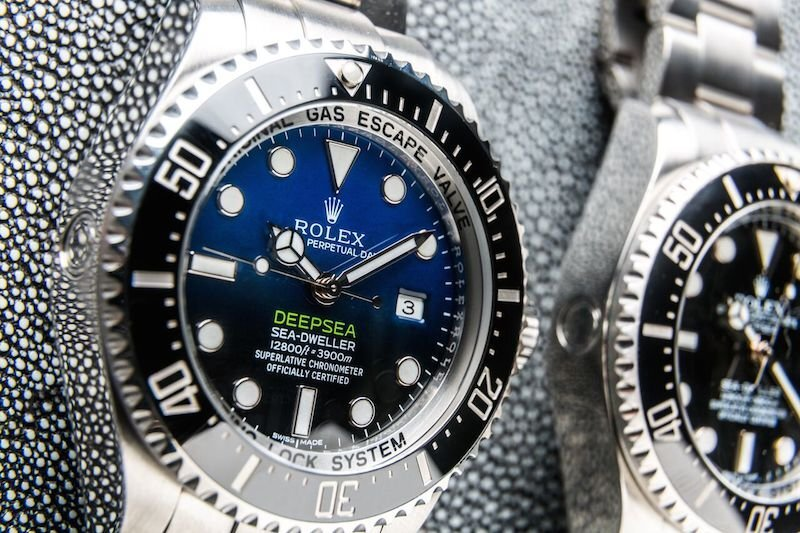 Diving Into A Pair of Deepsea Sea-Dwellers