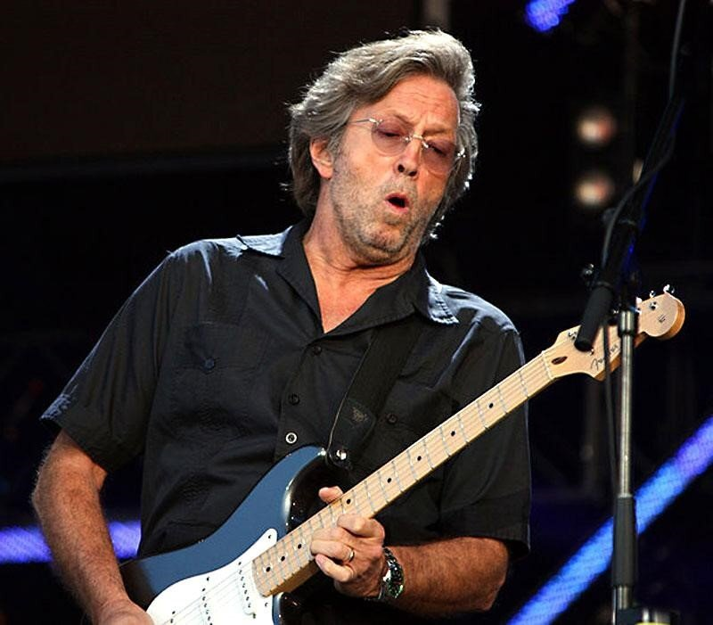 Eric Clapton Wears a What?!