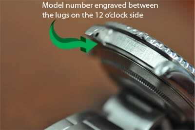 Find The Model Number On A Rolex