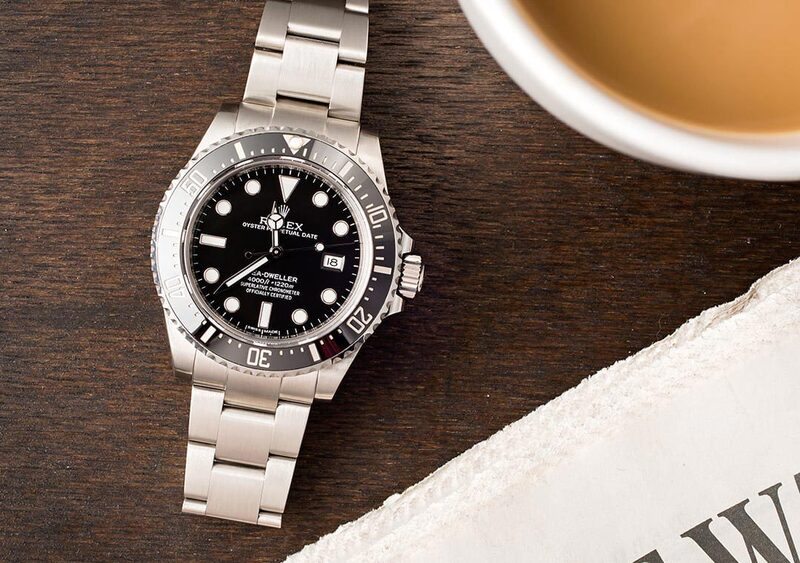 From the Deep. The Rolex Sea-Dweller 4000