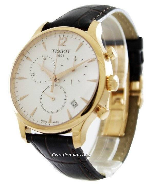 Gonzo guzzles the Tissot Tradition