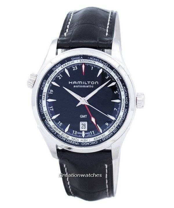 Hamilton Jazzmaster GMT Automatic H32695731 Men's Watch : Subtleties from a fun brand!