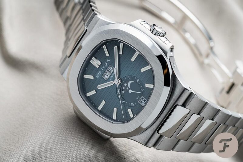 Hands-On: The Patek Philippe Nautilus 5726/1A