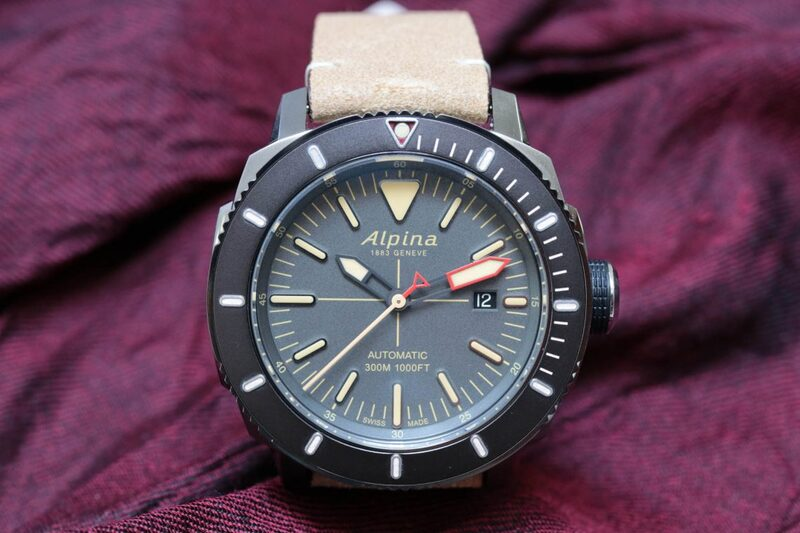 Hands-on with the new Alpina Seastrong Diver 300