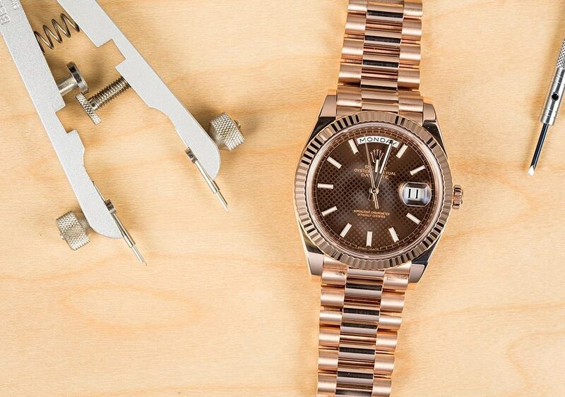 Image of Power: The Rolex President