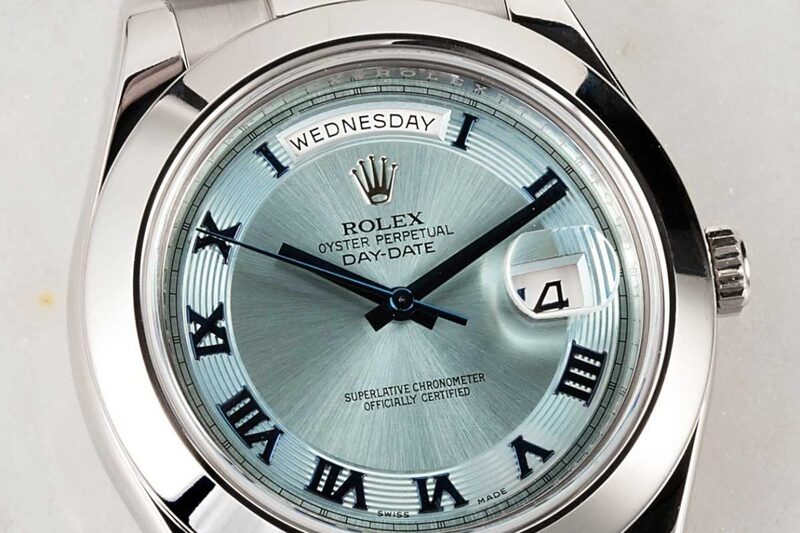 Midnight Miracle. The Rolex Oyster Perpetual Day-Date
