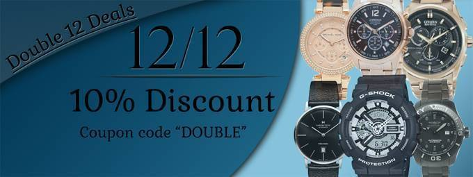 Newsletter : 12.12 Sale – Up to 85% off on that perfect Watch!
