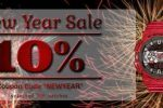 Newsletter : New Year's Sale on Watches – Discount Coupon Inside!!