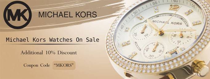 Newsletter : Our biggest sale on Michael Kors Watches