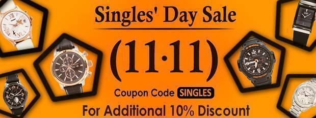 Newsletter : Singles' Day Sale is now on!
