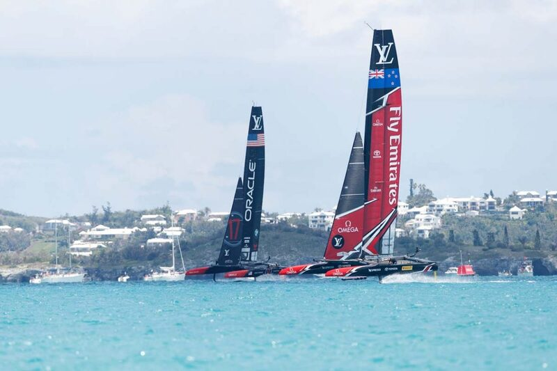 Omega Wins Big as New Zealand Beats USA to Capture the America's Cup