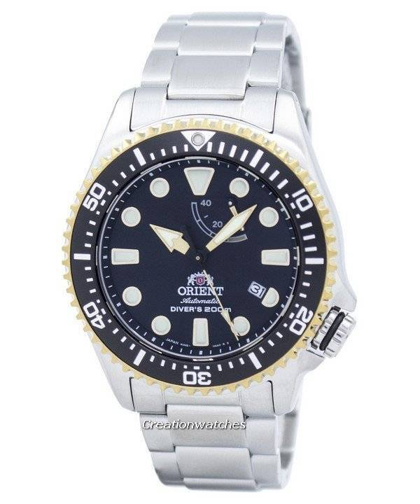 Orient Sports Automatic Diver's 200M Power Reserve Japan Made RA-EL0003B00B Men's Watch| Go beyond the solid looks