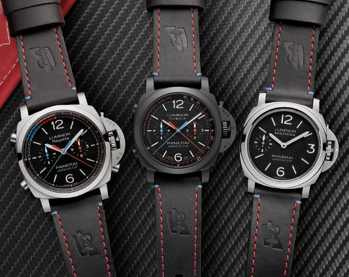 Panerai Bets Big on the America's Cup with Five New Watches at SIHH