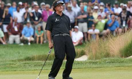 Phil Mickelson Finishes Second In Rolex US Open