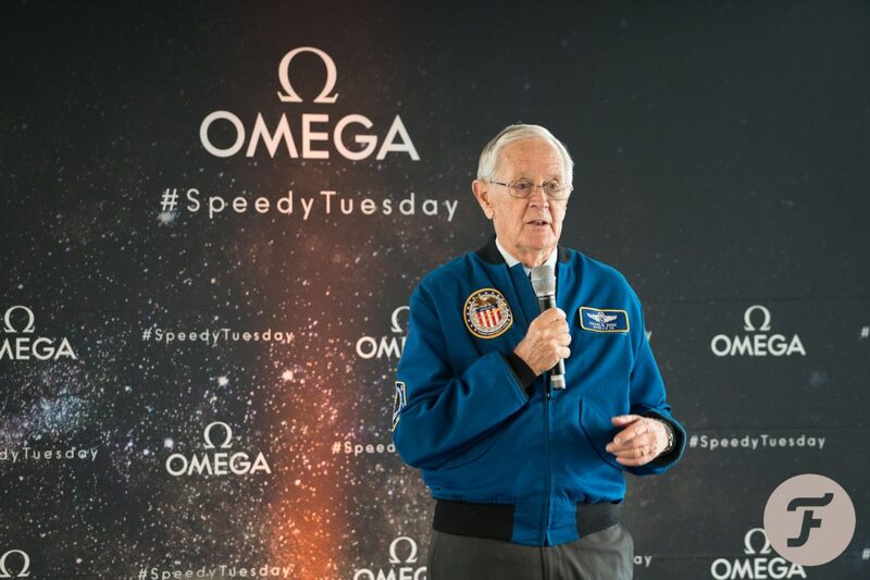 Photo and Video Report -Speedy Tuesday Event With Apollo 16 Astronaut Charlie Duke