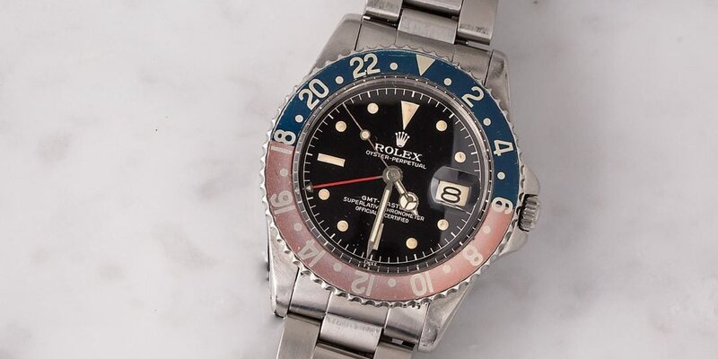 Reference 1675 GMT-Master Faded Bezel Inserts