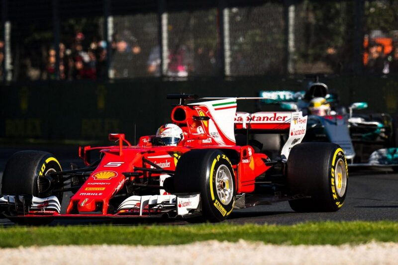 Rolex Backs the Action as Ferrari Crushes Mercedes in the First Race of the Formula One Season