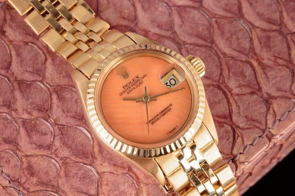 Rolex Ladies' Coral Datejust reference 6917
