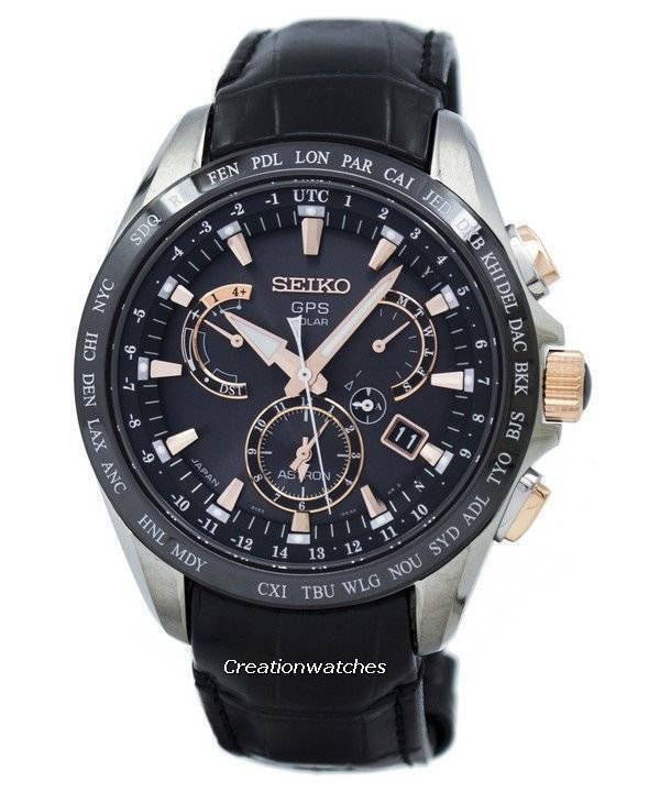 Seiko Astron GPS Solar Dual Time: Connected differently