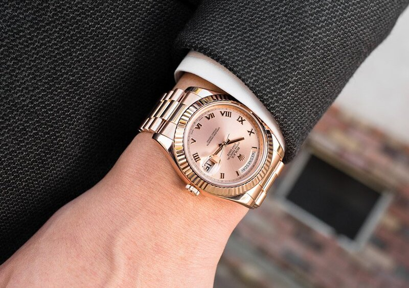 Sporty President: The Rolex Day-Date 118235
