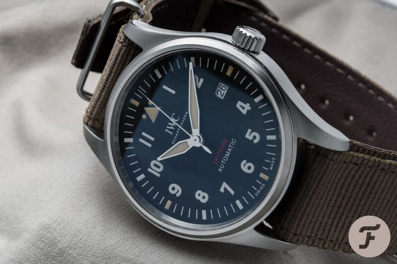 Stunning Variation On The IWC Pilot's Watch – The Spitfire