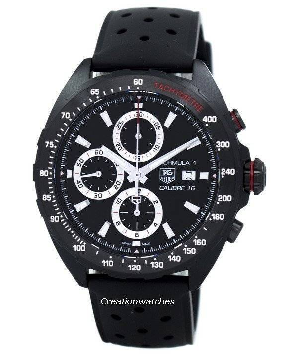TAG Heuer Formula 1 Chronograph Tachymeter Automatic CAZ2011.FT8024 Men's Watch| A fantastic sports watch for a daily, casual life