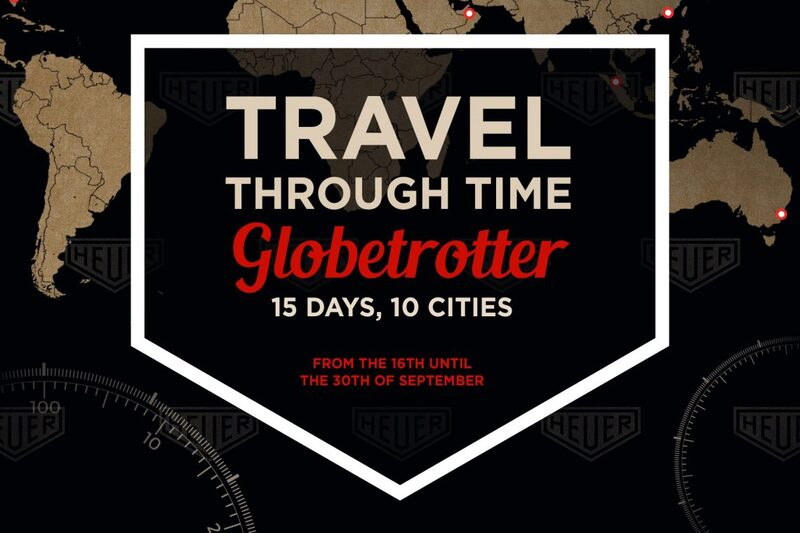 TAG Heuer Takes 400 Historic Watches on the Road for New Heuer Globetrotter Exhibition