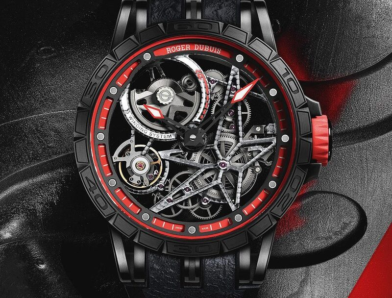 The $287,000 Excalibur Spider Pirelli Double Flying Tourbillon is a Supercar For Your Wrist