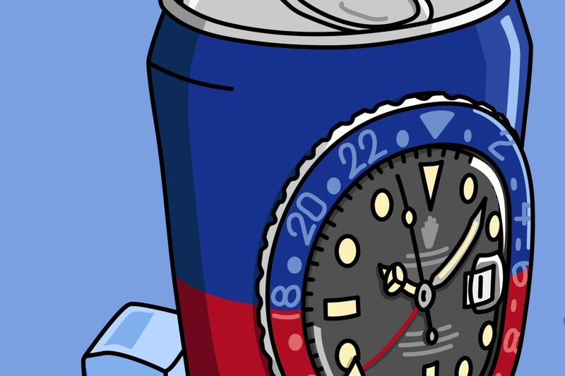 The Drink You Can't Have: Rolex GMT-Master Pepsi