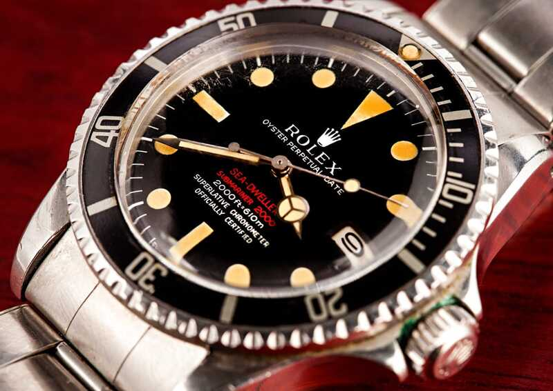 The First Rolex Sea-Dweller: Double Red Sea-Dweller 1665