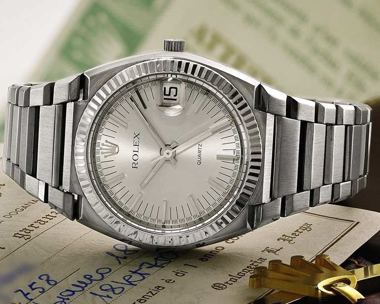 The Golden Ticket to Tour the Factory: The Rolex 5100 Beta-21