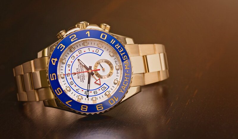 The Midas Touch: Sporty Versions of a Gold Rolex