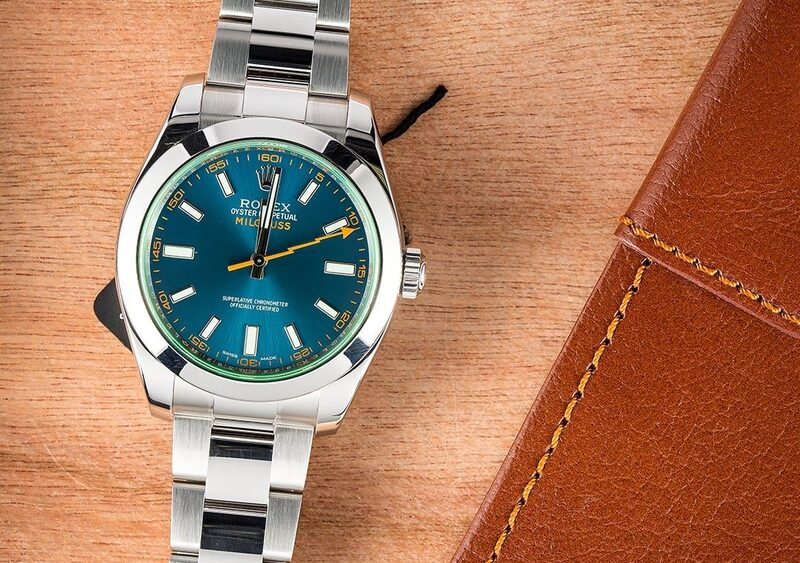 The Reference 116400GV Rolex Milgauss with Z-Blue Dial