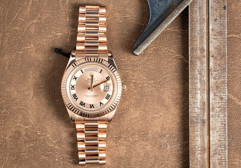 The Warm President: The Rolex Everose Gold Day-Date II