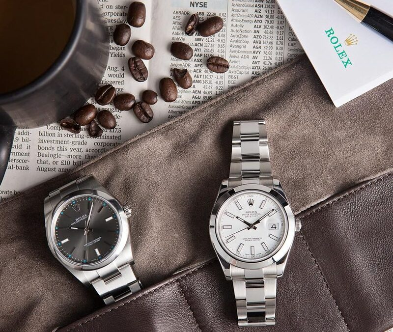 Timeless and Classic: Rolex Oyster Perpetual and Datejust Watches