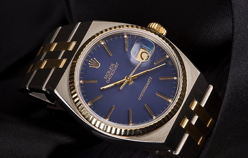 Vintage Watch of the Week: Oysterquartz Datejust 17013