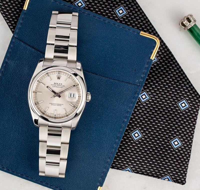 Watch Reviews Under $10k: The Rolex Datejust Reference 116200