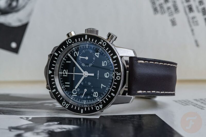 Wearing The Siduna M3440 Professional Flyback Chronograph