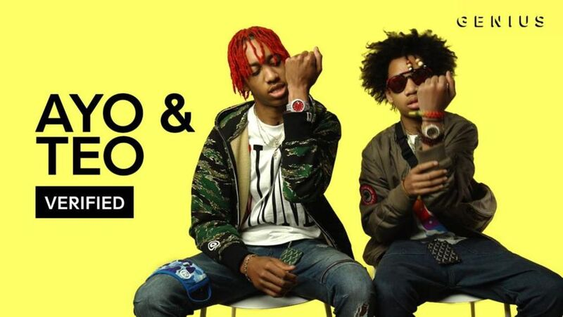 What Ayo & Teo Lyric Made it to the Top for 2017?