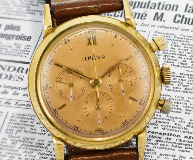 Winston Churchill's 1946 Lemania Chronograph to be Sold by Sotheby's in London